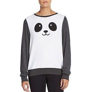 🐼 Wildfox Panda Kawaii Baggy Beach Jumper Sweater